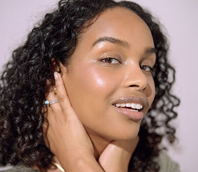 Watch: How to look dewy, not drenched