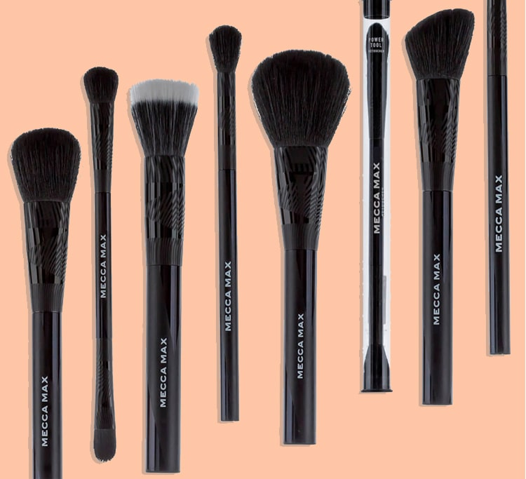 Brush-up on your makeup skills: our guide to using MECCA MAX brushes