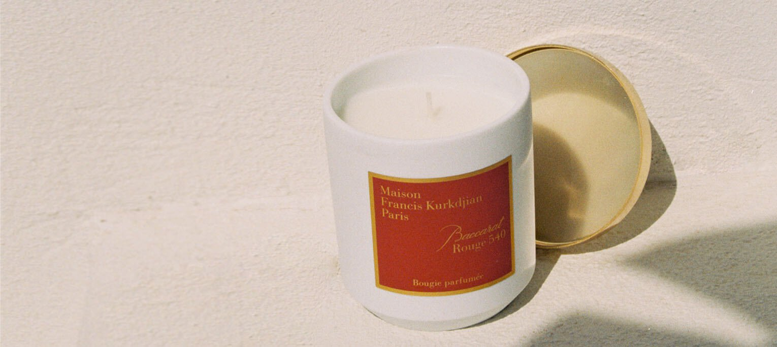 Our bestselling fragrance is now available in a candle, so your home can smell as good as you do