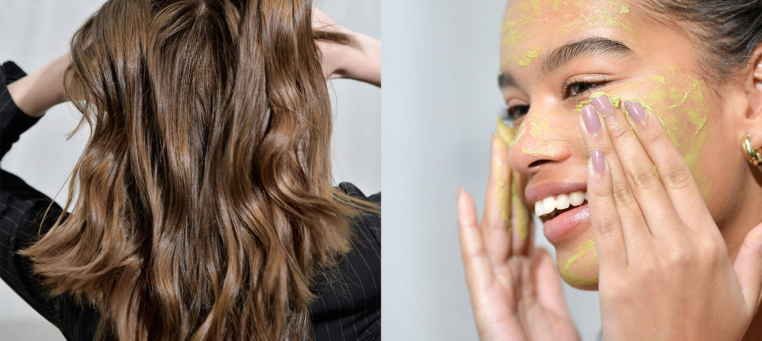 The 5 best hair and face mask matches