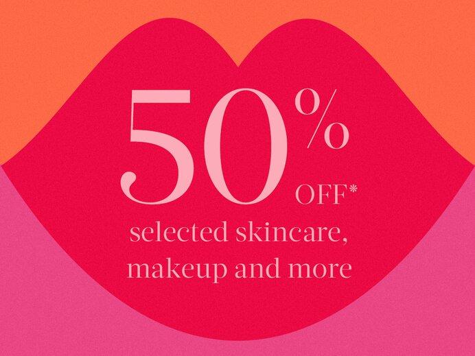 50% off selected skincare, makeup and more at MECCA
