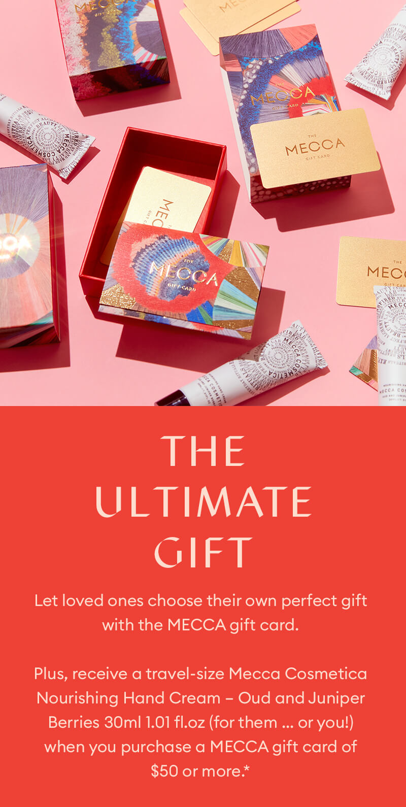 MECCA Gift Cards