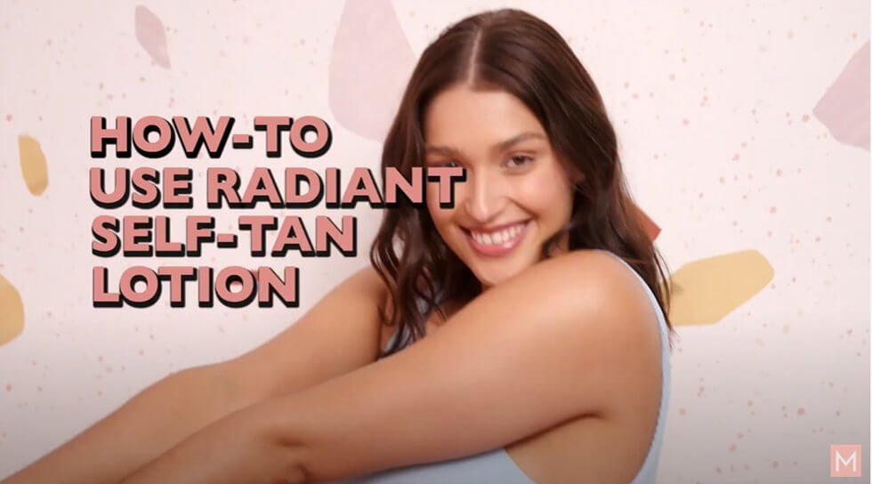 Radiant Self Tanning Lotion, , video