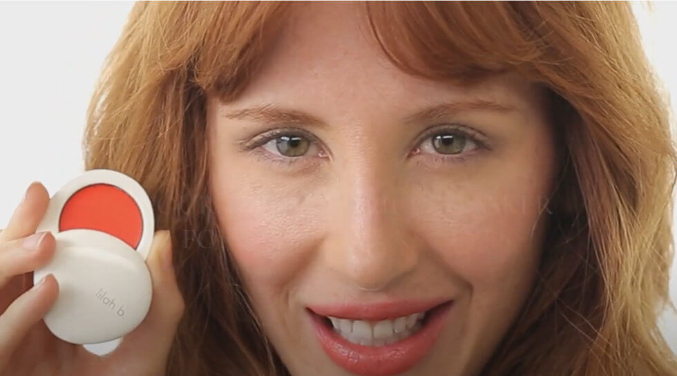 lilah b. - Divine Duo Lip & Cheek - B Daring