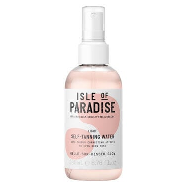 Isle Of Paradise - TANNING WATER LIGHT 200ML