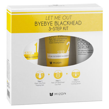Mizon - LET ME OUT BYE BLACKHEAD KIT