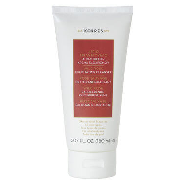Korres - Wild Rose Exfoliating Cleanser