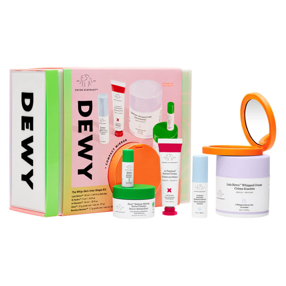 Drunk Elephant - Dewy - The Whip-Skin-Into-Shape Kit