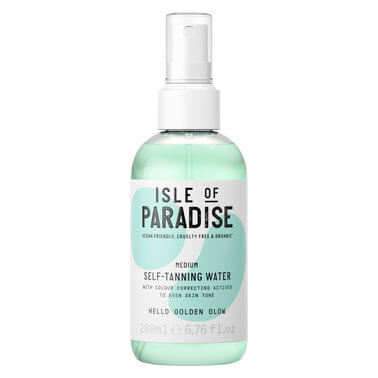 Isle Of Paradise - TANNING WATER MEDIUM 200ML