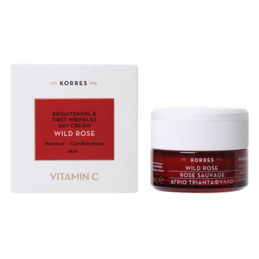 Korres - Wild Rose Moisturising and Brightening Cream (Normal to Combination)