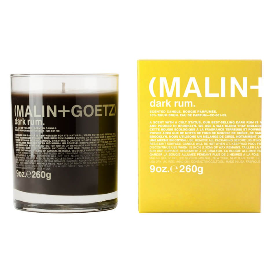Malin+Goetz - Dark Rum Candle - 260g
