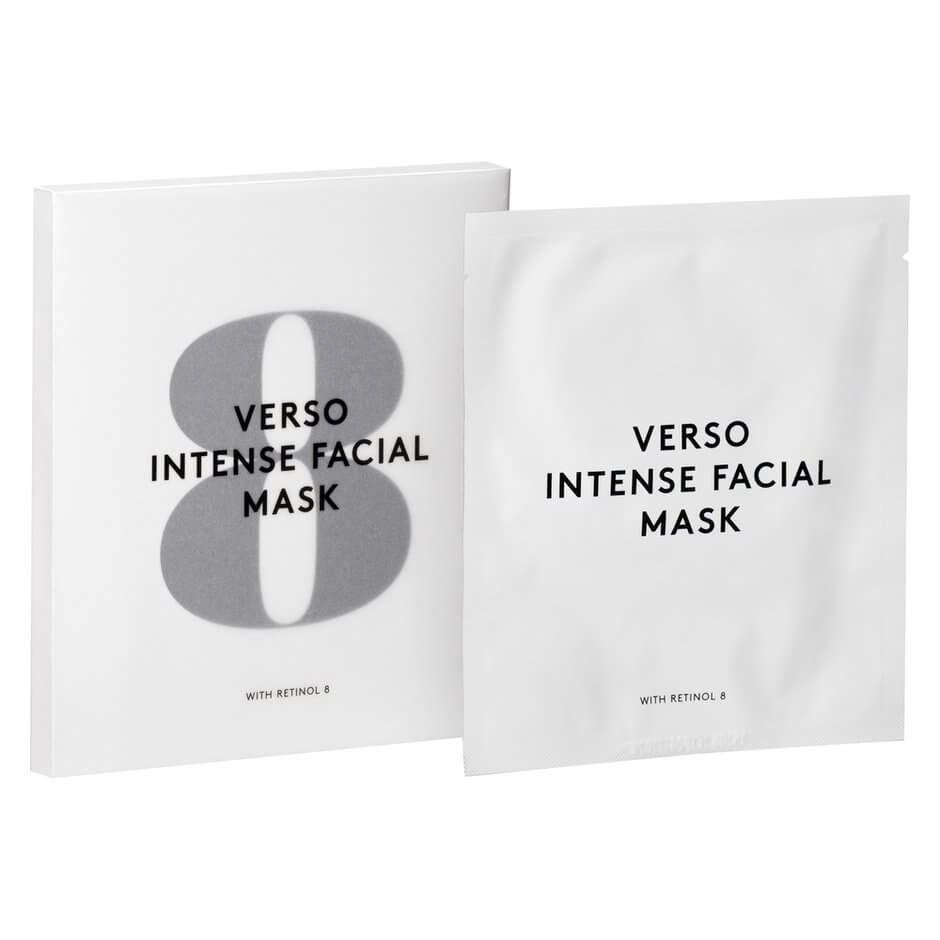 Verso Skincare - INTENSE FACIAL MASK 6PCS
