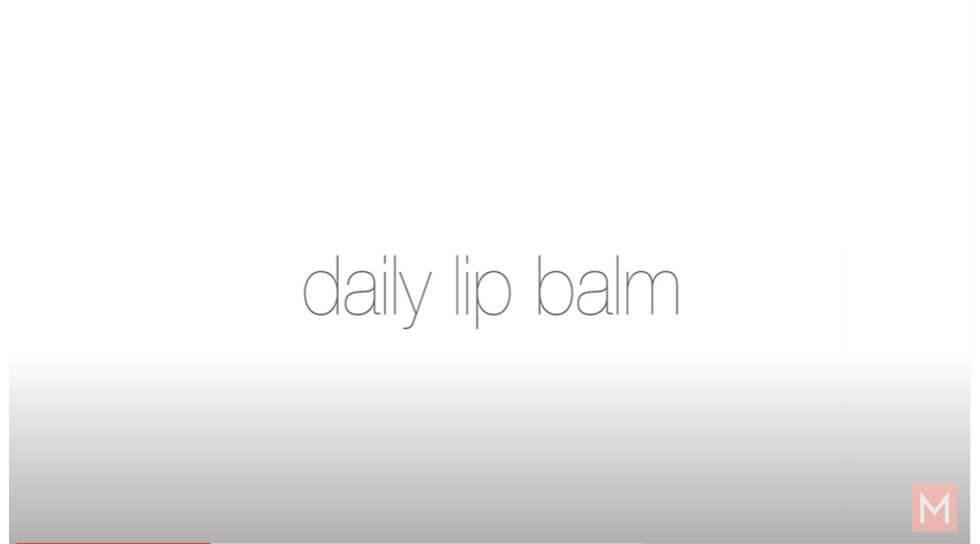 Daily Lip Balm, Peacock Lane, video