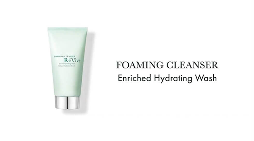 Foaming Cleanser Enriched Hydrating Wash, , video