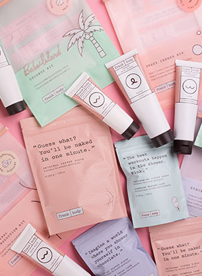 Scrub your way to summer skin with Frank Body